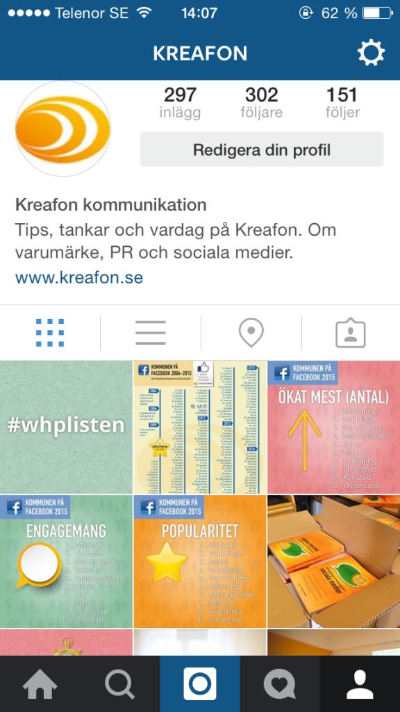instagram för nybörjare